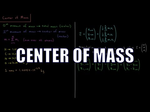 Computational Chemistry 1.12 - Center of Mass