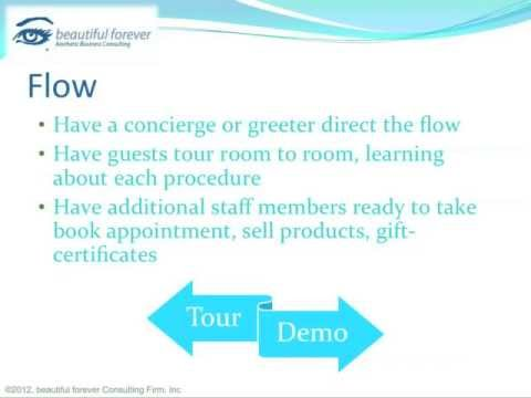 Aesthetic Business - Planning a Successful Event- Part 16 - Event Flow