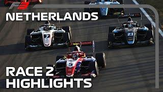 F3 Race 2 Highlights | 2021 Dutch Grand Prix