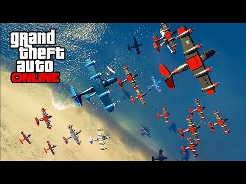 CARPET BOMBS VS YACHTS & MORE! || GTA 5 Online || PC (Funny Moments)