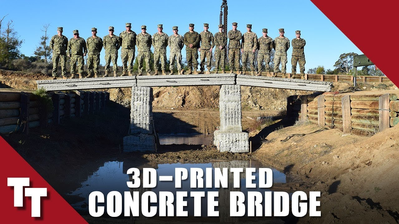 Tactical Tuesday: 3D Printed Concrete Bridge