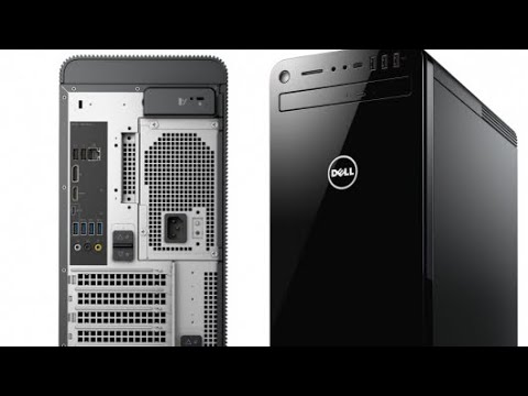 Unboxing my new Dell XPS 8930 I7 8700 16gb ram GeForce GTX 1050ti