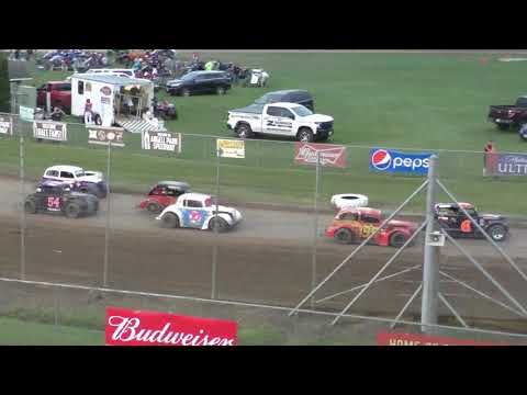 Angell Park Speedway 8/11/19 Legends Races