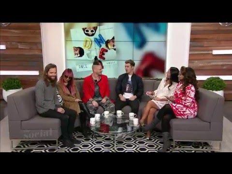Joe Jonas /DNCE interview 2016 (part1 - the group) - The Social (talk show)