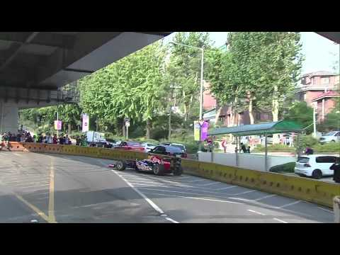 F1 2012 - Red Bull Racing - Red Bull Show Run in Seoul (Korea)