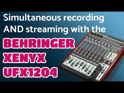 Quick Review Of The Behringer XENYX UFX1204