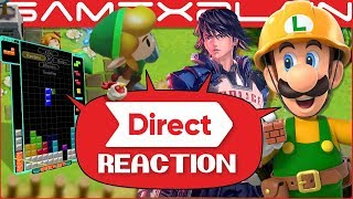 Nintendo Direct Reaction DISCUSSION: Mario Maker 2, Link