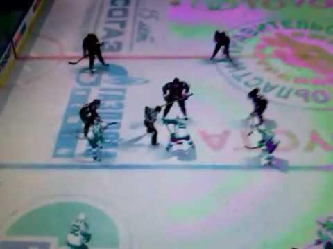 Игра Авангард VS Салават Юлаев в игре NHL 2012