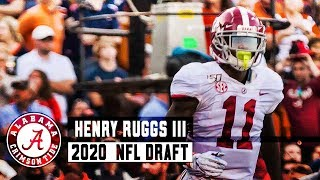 Henry Ruggs III NFL Draft profile and analysis