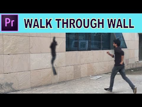 Harry Potter Walk Through Wall Effect - Adobe Premiere Pro Tutorial thumbnail