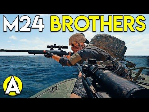 M24 BROTHERS - PUBG w/ StoneMountain64