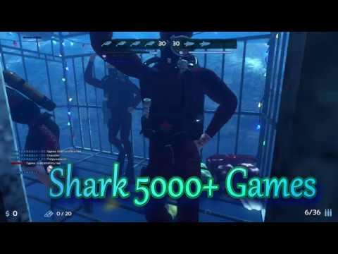 Как играют Акулы с 5000 игр? Depth Shark 5000 Games #1