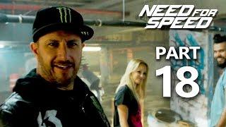 Need For Speed Gameplay Walkthrough Part 18 - KEN BLOCK (NFS 2015)