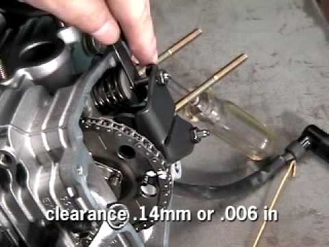 Adjusting Valve Clearance on a Subaru EX Series Engine
