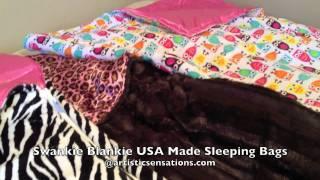 Girls Minky Sleeping Bags At Artistic Sensations