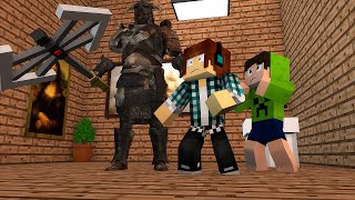 Minecraft: ARMADURA COM VIDA NO MUSEU !! - Aventuras Com Mods #21