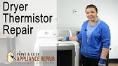Whirlpool/ Kenmore Gas Dryer Replace Thermistor #8577274 ... on