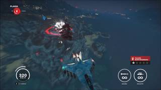 Just Cause 3 - Bombing a base with Ace Combat 2 music!
