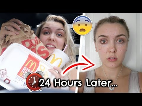 I Ate ONLY McDonalds Food For 24 Hours And This Happened...