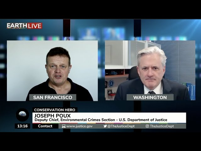 Joseph Poux, Deputy Chief, Environmental Crimes Section, U. S. Department of Justice