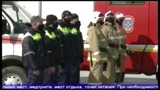 Спасатели и врачи провели учения по организации полевого госпиталя