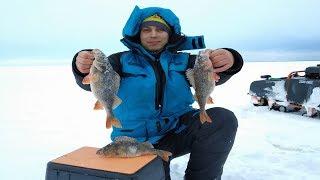 КРУПНЫЙ ОКУНЬ НА БАЛАНСИР 2020 Рыбалка в Карелии Ловля крупного окуня зимой Рыбалка 2020