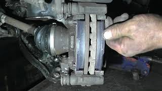 видео Замена задних тормозных колодок на Фиат Альбеа