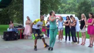 Уроки танцев в парке Горького MPEG2