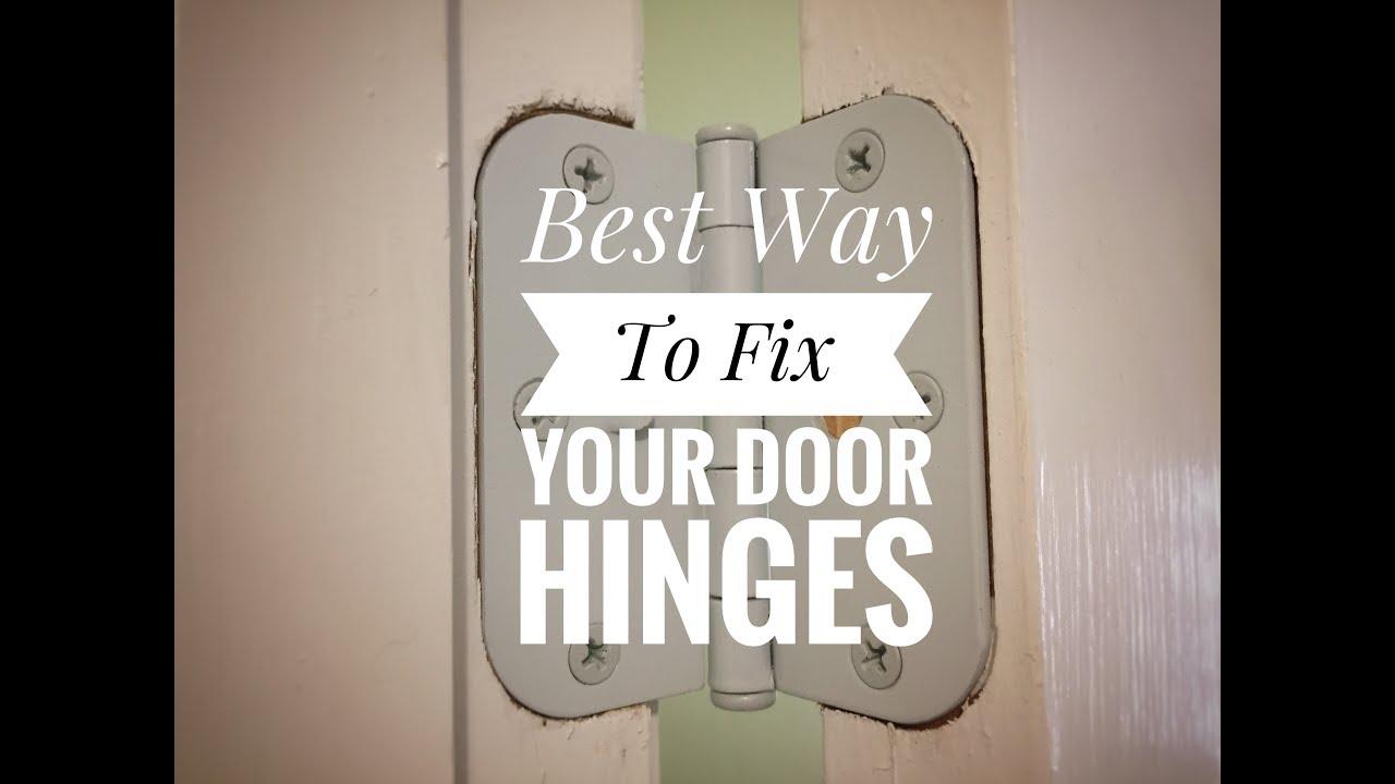 how to fix squeaky door hinges youtube