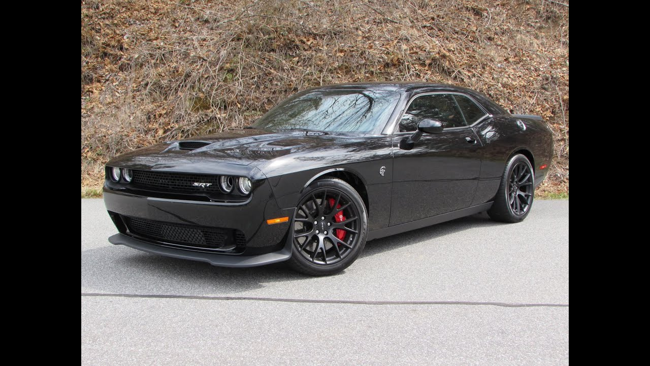 2015 Dodge Challenger Srt Hellcat Start Up Road Test And In Depth