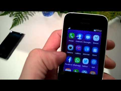 Demo Nokia Asha 230