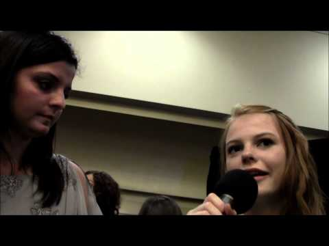 HTZ goes Back To School with Dakota Hood & Annie Thurman from The Hunger Games!