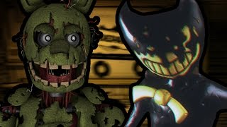 SPRINGTRAP PLAYS: Bendy and the Ink Machine - Chapter 2 || HE WILL SET US FREE!!!