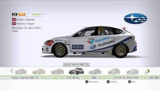 WRC2 2011 - All Cars from the game (HD 720p)