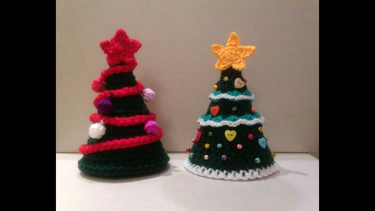 Rbol de navidad a crochet youtube - Tutorial arbol de navidad ...