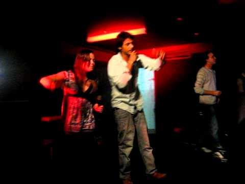 Becca and Vik try Karaoke