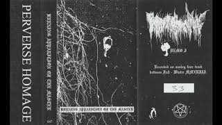 Burning Apparition Of The Master - S/T (2019) (Raw Black Metal, Dark Ambient)