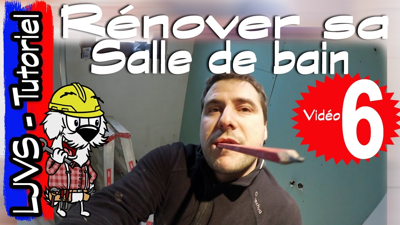 comment renover une salle de bain partie 6 tutoriel ljvs youtube. Black Bedroom Furniture Sets. Home Design Ideas