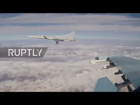 Russia: Bombers strike rebel positions in north-east Syria
