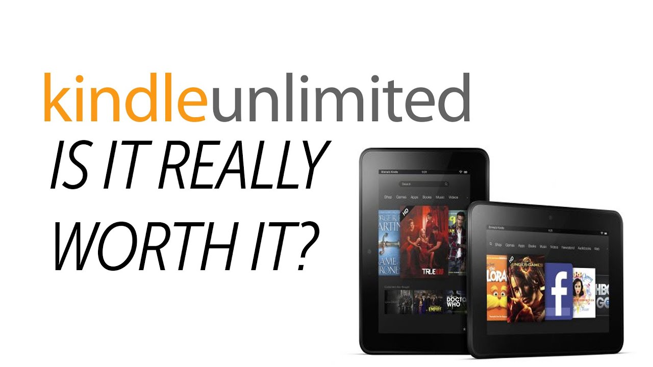 Amazon Kindle Unlimited Is It Worth It? (Tech Tuesday ... - photo#38