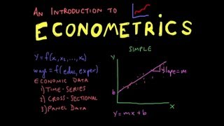 Econometrics // Lecture 1: Introduction