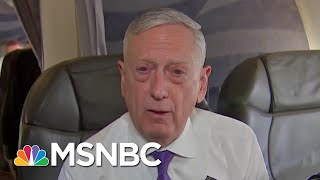 President Trump Infidelity To Allies Drives Jim Mattis To Resign In Protest | Rachel Maddow | MSNBC