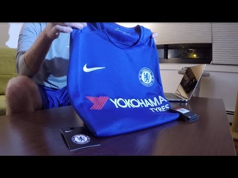 2017/18 Chelsea Home Kit Unboxing from World Soccer Shop!