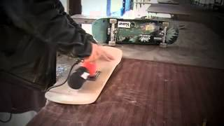 Skateboard FROM BLANK TO BOWL DIY Custom Shape, Paint Art, Handmade Skateboard How to