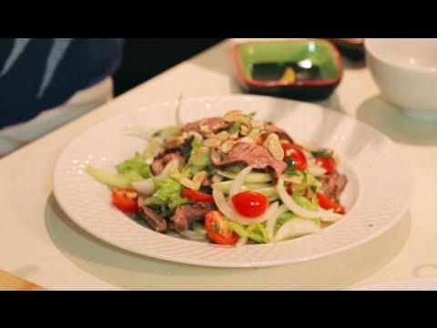 """Yum Neua Yang"" Thai Steak Salad ยำเนื้อย่าง - Hot Thai Kitchen"