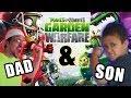 Plants vs. Zombies Garden Warfare: Dad & Son Metal Petal Team! Co-Op Splitscreen - Duracell Stinks!