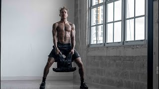 NO GYM? How To Workout Legs At Home Boo Johnson Routine