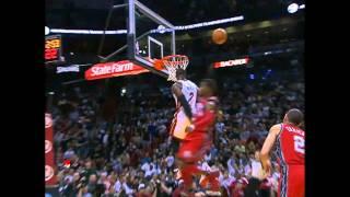 Dwyane Wade Sick Alley-oop to LeBron James