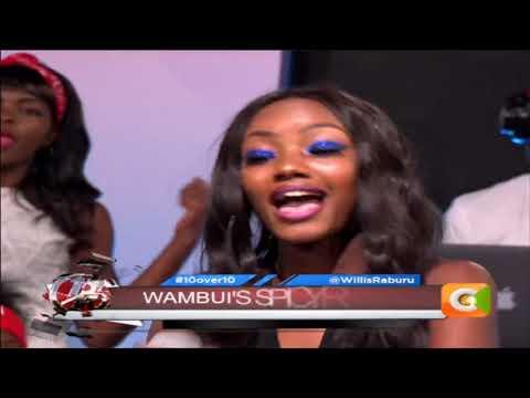 10 OVER 10 |Wambui Katee performs her new song 'Mahabuba'