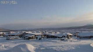 Заброшенный посёлок на Чукотке